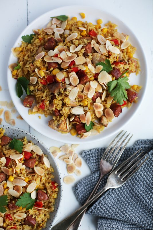 Chicken and Chorizo pilaf