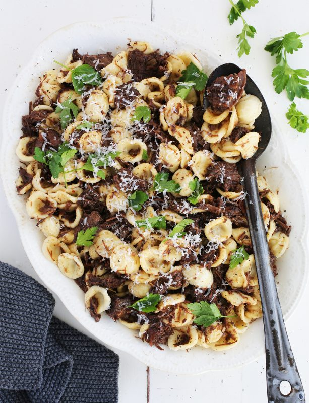 Braised Beef Cheek Orecchiette