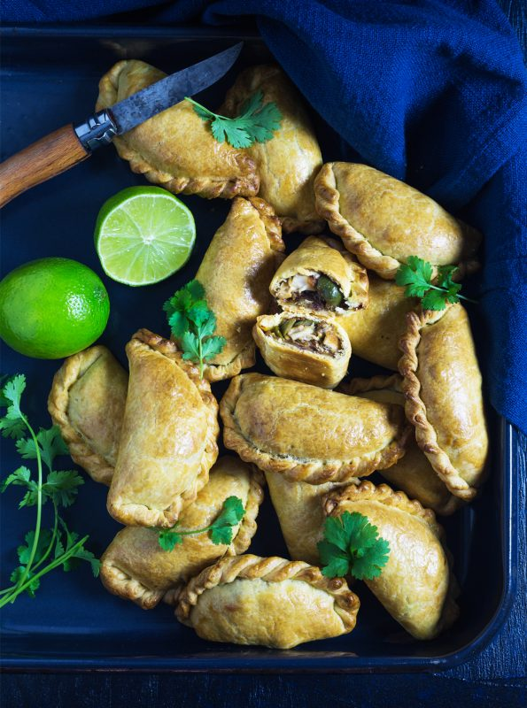 Chicken and Green Olive Empanadas