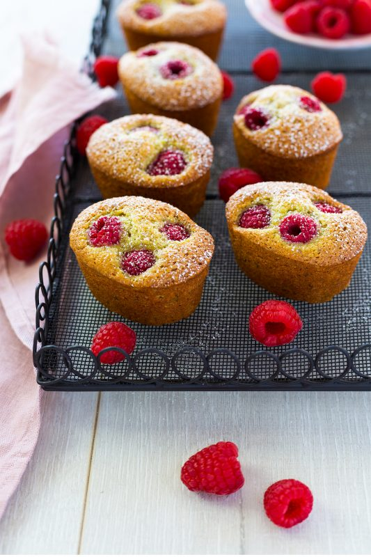 Pistachio & Raspberry Friands