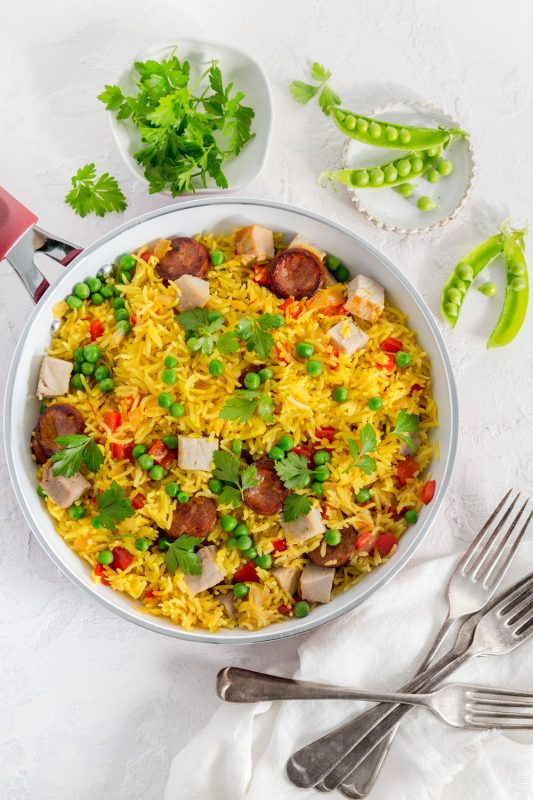 Pork & Chorizo Rice